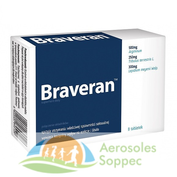 Braveran – tabletki na erekcję