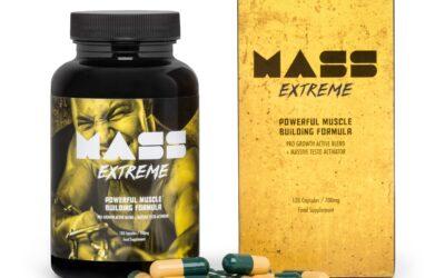 Mass Extreme – tabletki na przyrost masy miesniowej