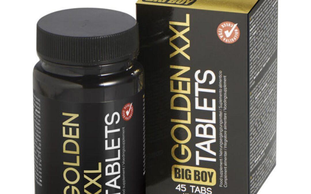 Big Boy Golden XXL – tabletki na powiększanie penisa