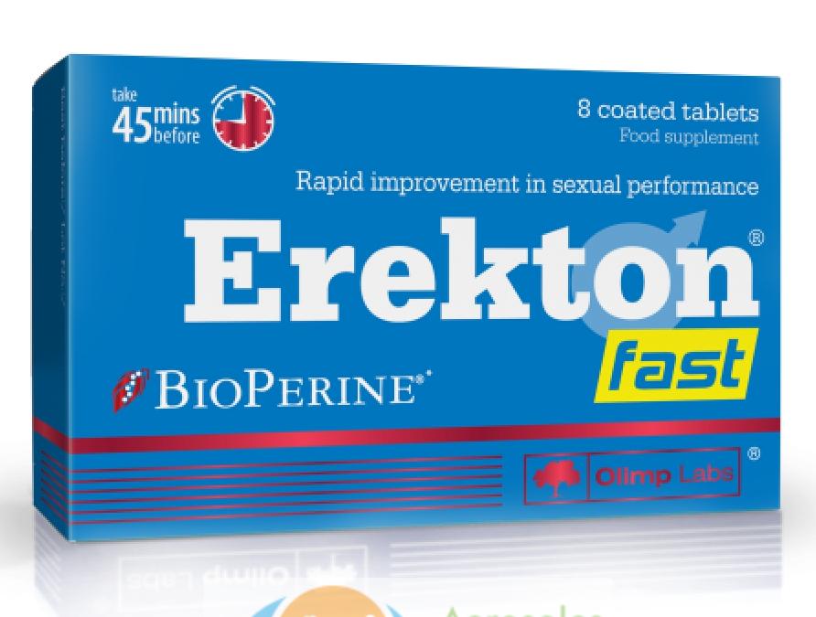 Erekton Fast – tabletki na erekcję